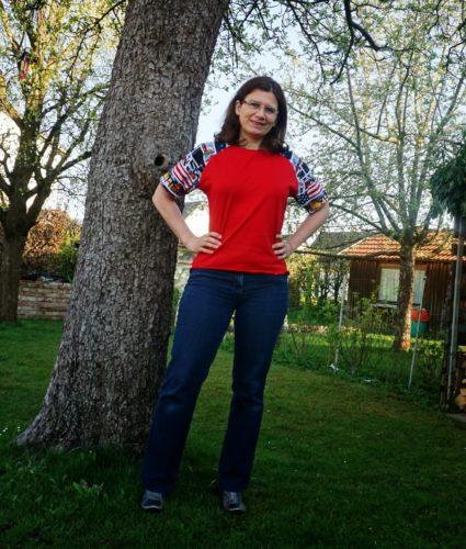 Mein amerikanisches T-Shirt Bethioua.