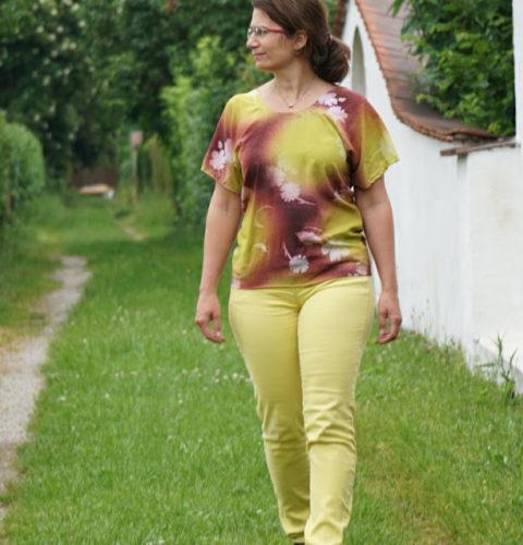 Mathilde, das Burgfräulein - oder eine neue Bluse