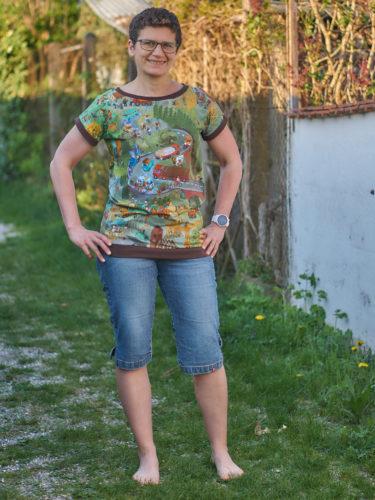 Ein Lieblingsshirt mit Kindheitserinnerungen - Rom von Hummelhonig
