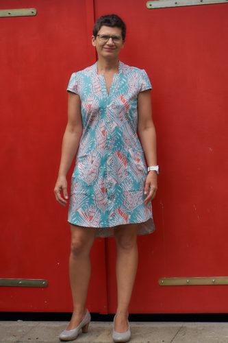 """Zur """"Abwechslung"""" mal wieder ein Kleid - Uma-B von B-Pattern"""