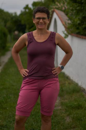 Ein Sportoutfit - Sanna und Rafftop und ein Shirt für den Grossen
