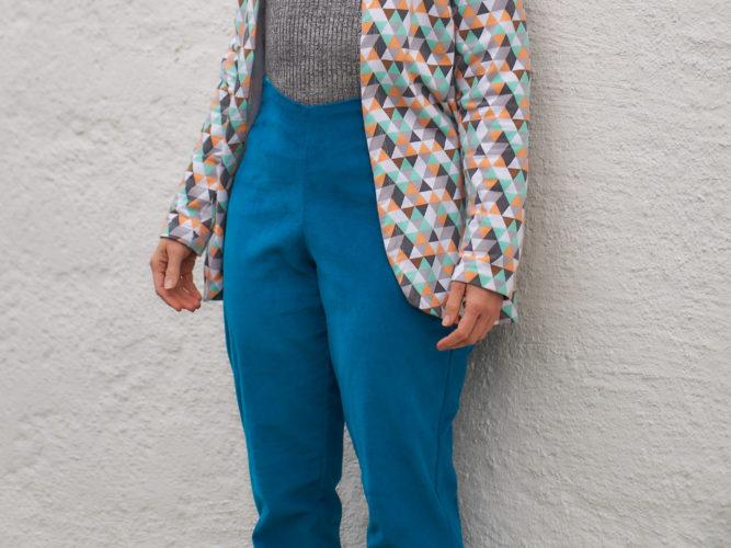 Lempi Hose Nr. 2 aus Stretchcord